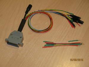 Адаптер boot/bench(DB25) 71 и 53 модуля PCMFlash для Scanmatik 2/Pro с универсальным кабелем